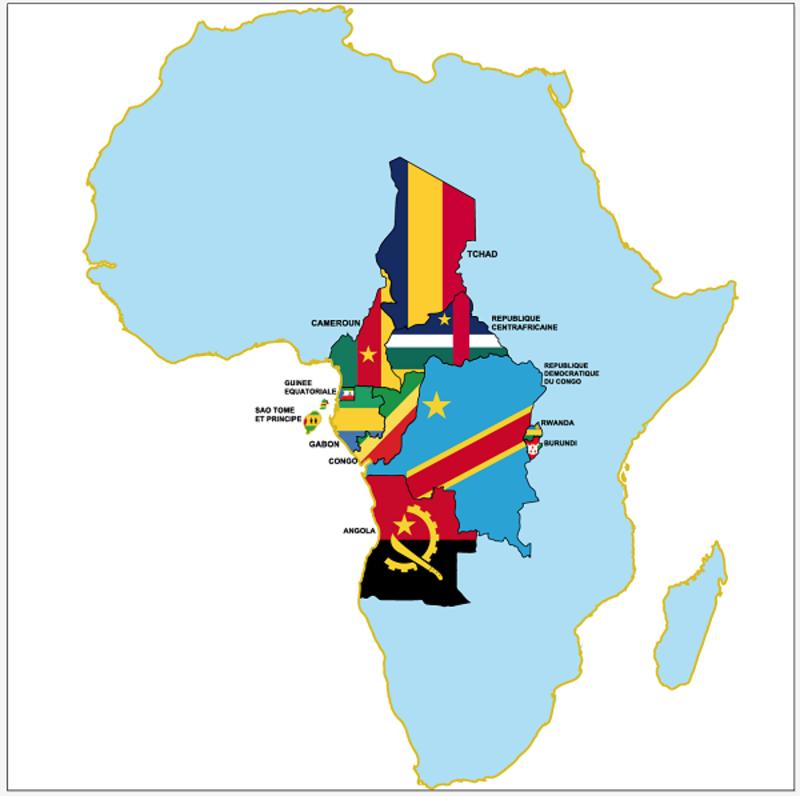 UNOCA Map