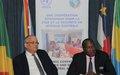 La CEEAC et l'UNOCA pour des élections législatives et municipales pacifiques au Camerou n