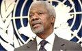 François Louncény Fall : « Kofi Annan fut un véritable soldat du maintien de la paix dans le monde »