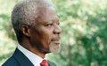 Ouverture d'un livre de condoléances en mémoire de l'ancien Secrétaire général Kofi Annan