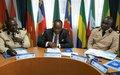 Le Chef de l'UNOCA a présidé la première réunion des Attachés de défense et des Conseillers militaires en poste au Gabon