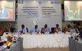 Comité sur les questions de sécurité en Afrique centrale : fin des travaux des experts, place à la session ministérielle…