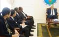 Le Secrétaire Général de la CEEAC et le Chef de l'UNOCA échangent sur les questions sous-régionales
