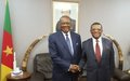 Courtesy visit of the Head of UNOCA to the Cameroonian authorities