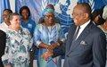 8 mars 2019 : le chef de l'UNOCA rend hommage à ses collègues femmes