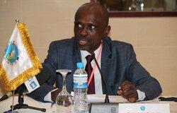 Le Représentant du Ministère des Affaires étrangères pendant son allocution